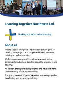 Learning Together leaflet and link to PDF version